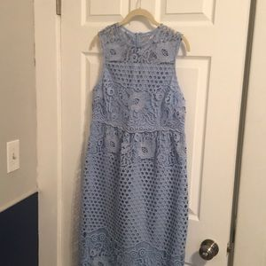 Asos blue maternity dress size 6